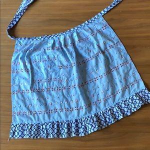 Vintage Frilly Cottagecore Kitchen Skirt Apron